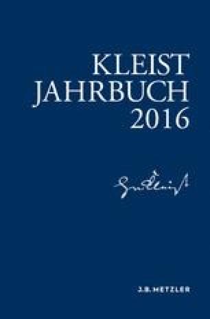 Kleist-Jahrbuch 2016