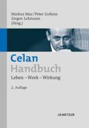 Celan Handbuch