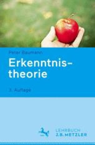 Erkenntnistheorie