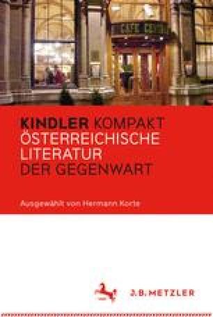 Kindler Kompakt Österreichische Literatur der Gegenwart