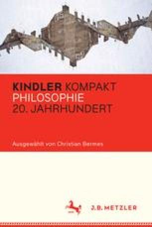 Kindler Kompakt: Philosophie 20. Jahrhundert