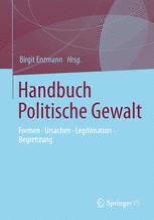 Handbuch Politische Gewalt