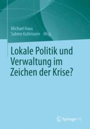Lokale Politik und Verwaltung im Zeichen der Krise?