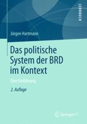 Das politische System der BRD im Kontext