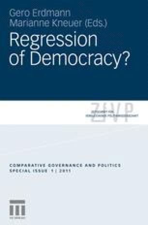 Do Party Systems Make Democracy Work? A Comparative Test of