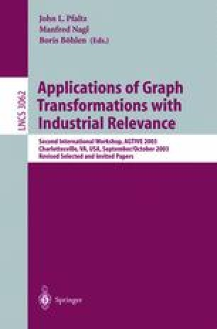 Applications of Graph Transformations with Industrial Relevance
