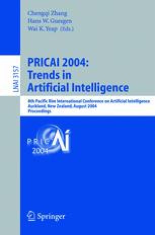 PRICAI 2004: Trends in Artificial Intelligence