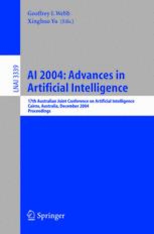 AI 2004: Advances in Artificial Intelligence
