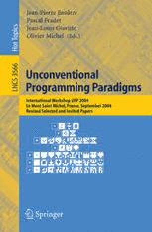 From Quantum Physics to Programming Languages: A Process