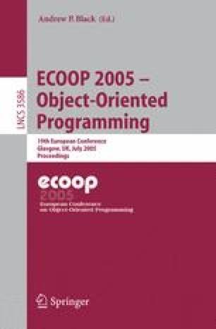 ECOOP 2005 - Object-Oriented Programming