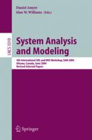 System Analysis and Modeling