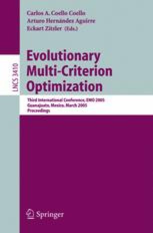 Evolutionary Multi-Criterion Optimization