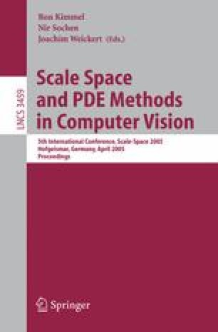 Scale Space and PDE Methods in Computer Vision