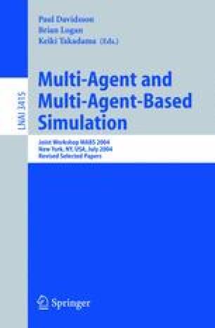 Multi-Agent and Multi-Agent-Based Simulation
