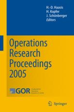 Operations Research Proceedings 2005