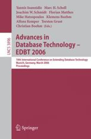 Advances in Database Technology - EDBT 2006