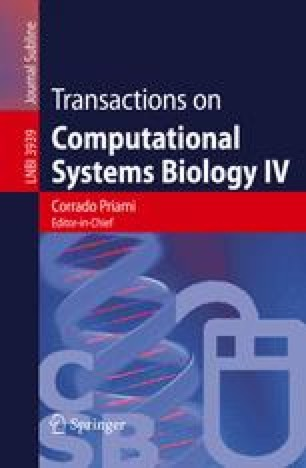 Transactions on Computational Systems Biology IV