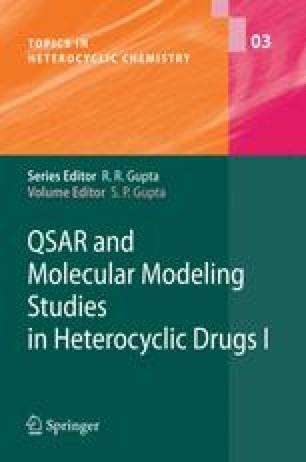 QSAR And Molecular Modeling Studies In Heterocyclic Drugs I