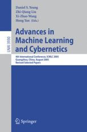 Advances in Machine Learning and Cybernetics