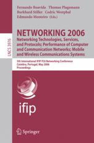 NETWORKING 2006. Networking Technologies, Services, and Protocols; Performance of Computer and Communication Networks; Mobile and Wireless Communications Systems