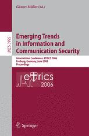 Transitive Trust in Mobile Scenarios | SpringerLink