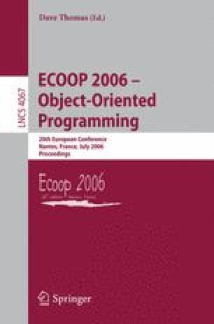 ECOOP 2006 – Object-Oriented Programming
