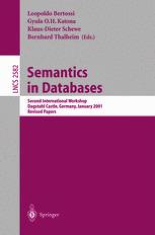 Semantics in Databases