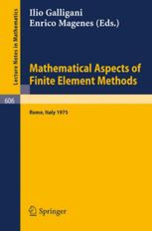 Mathematical Aspects of Finite Element Methods