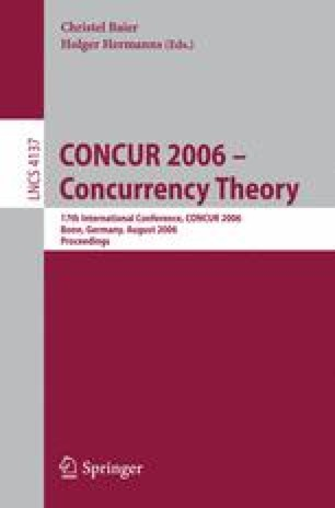 CONCUR 2006 – Concurrency Theory