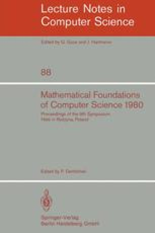 Mathematical Foundations of Computer Science 1980