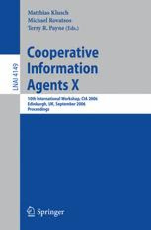 Cooperative Information Agents X