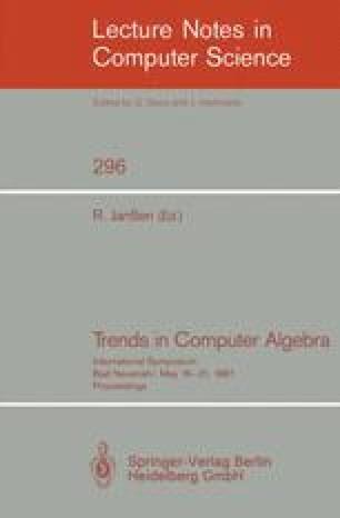 Trends in Computer Algebra