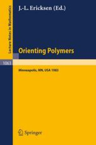 Orienting Polymers