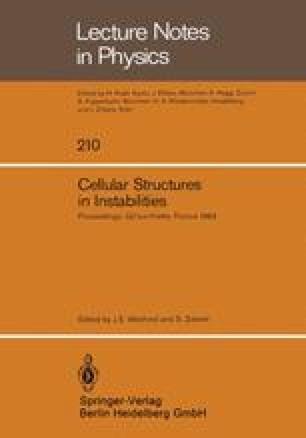 Cellular Structures in Instabilities