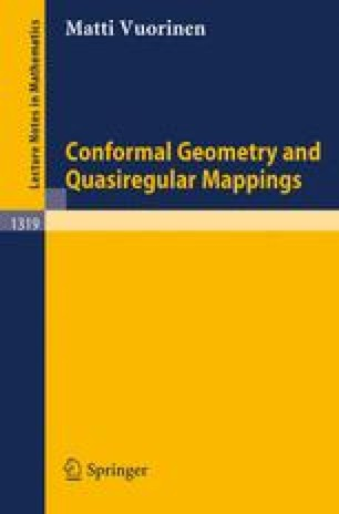 Conformal Geometry and Quasiregular Mappings