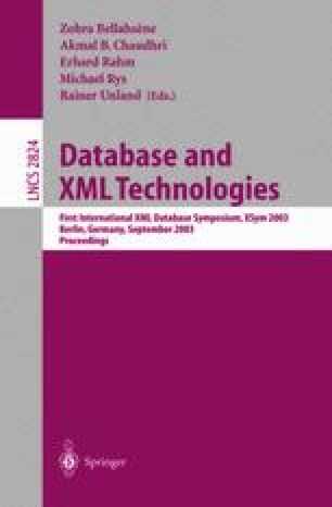 Database and XML Technologies