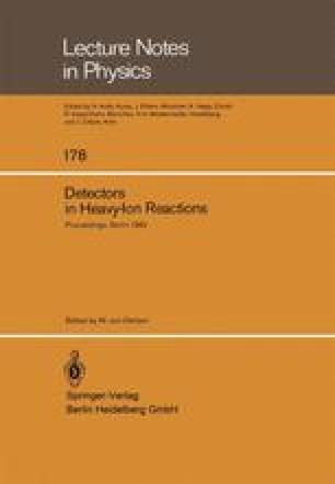 Detectors in Heavy-Ion Reactions
