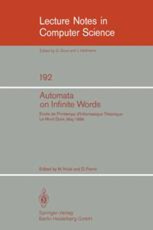 Automata on Infinite Words