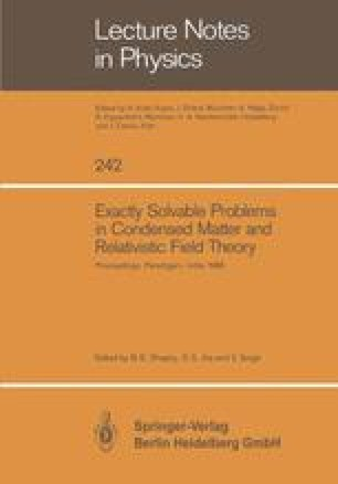 Exactly Solvable Problems in Condensed Matter and Relativistic Field Theory