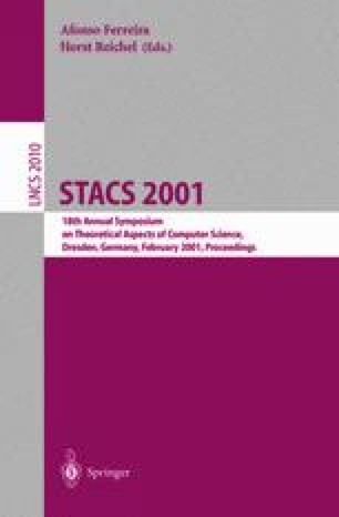 STACS 2001