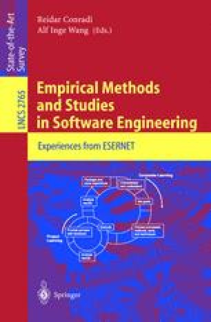 Empirical Methods and Studies in Software Engineering