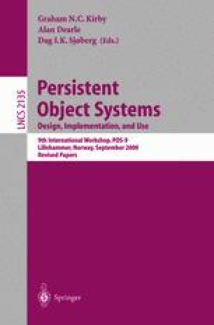 Persistent Object Systems: Design, Implementation, and Use
