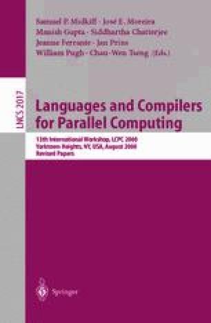 MaJIC: A Matlab Just-In-Time Compiler | SpringerLink