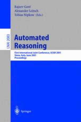 Automated Reasoning