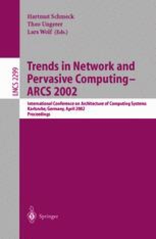 Trends in Network and Pervasive Computing — ARCS 2002