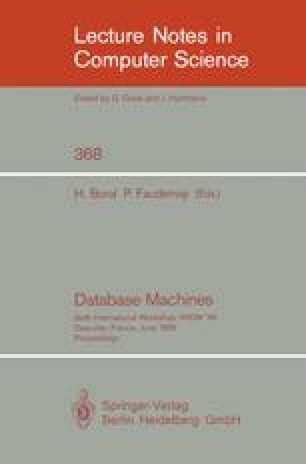 Database Machines