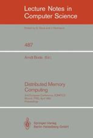 Distributed Memory Computing