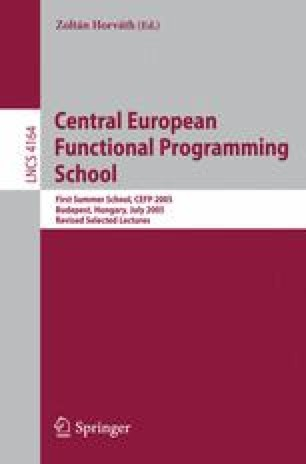 Central European Functional Programming School