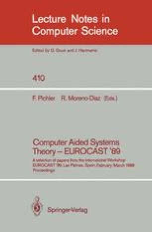 Computer Aided Systems Theory — EUROCAST '89
