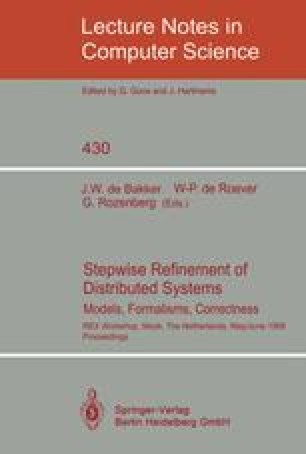 Stepwise Refinement of Distributed Systems Models, Formalisms, Correctness
